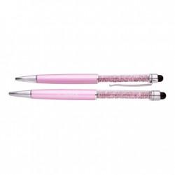 """Pildspalva """"Pink Spark"""" ar Swarovski™ kristāliem"""