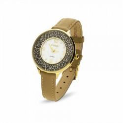 """Sieviešu pulkstenis """"Oriso II"""" ar Swarovski™ kristāliem"""
