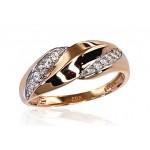 "Zelta gredzens ""Amoroso IV"" no 585 proves sarkanā zelta"