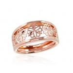 """Zelta gredzens """"Silvija II"""" no 585 proves sarkanā zelta"""