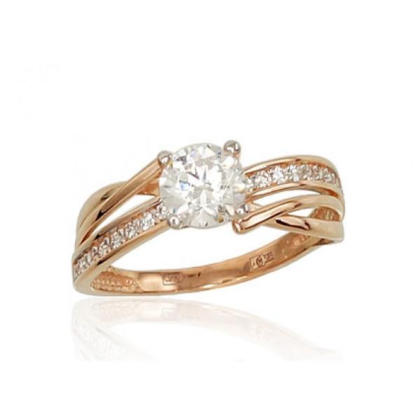 "Zelta gredzens ""Ērika V"" no 585 proves sarkanā zelta"