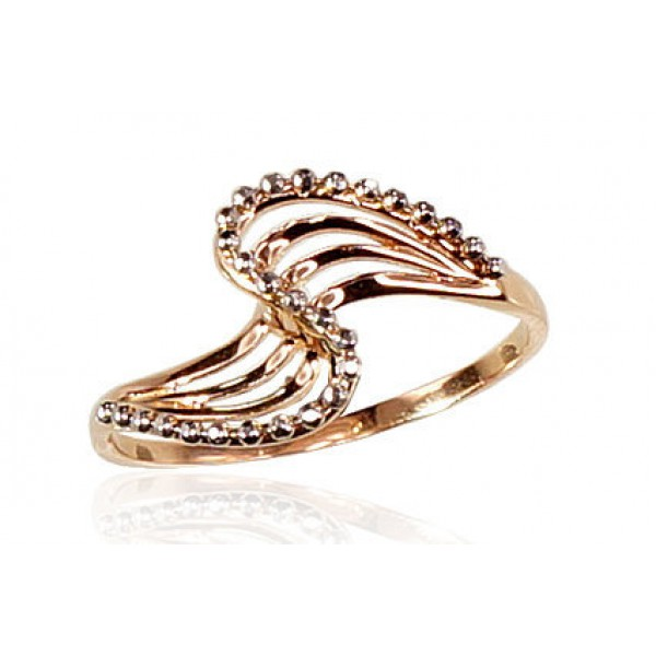 "Zelta gredzens ""Jūras Vilnis"" no 585 proves sarkanā zelta"