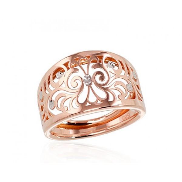 "Zelta gredzens ""Silvija"" no 585 proves sarkanā zelta"