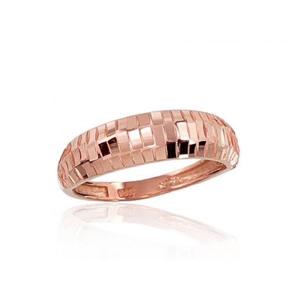 """Zelta gredzens """"Monro"""" no 585 proves sarkanā zelta"""
