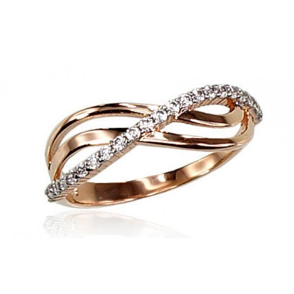 "Zelta gredzens ""Brigita VI"" no 585 proves sarkanā zelta"