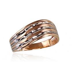"Zelta gredzens ""Zelta Vilnis VII"" no 585 proves sarkanā zelta"