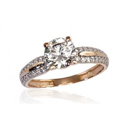 "Zelta gredzens ""Junona Gold VI"" no 585 proves sarkanā zelta"