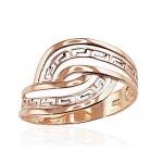 """Zelta gredzens """"Grieķu Motīvi IV"""" no 585 proves sarkanā zelta"""