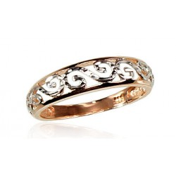 "Zelta gredzens ""Silvija VII"" no 585 proves sarkanā zelta"
