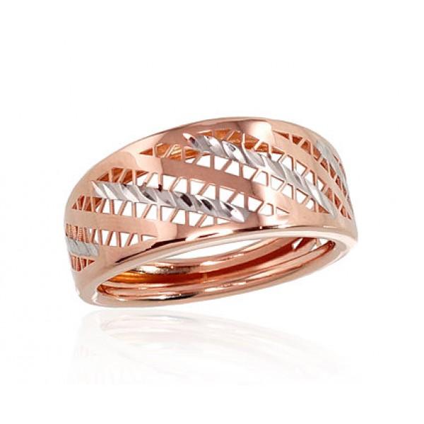 "Zelta gredzens ""Silvija IV"" no 585 proves sarkanā zelta"