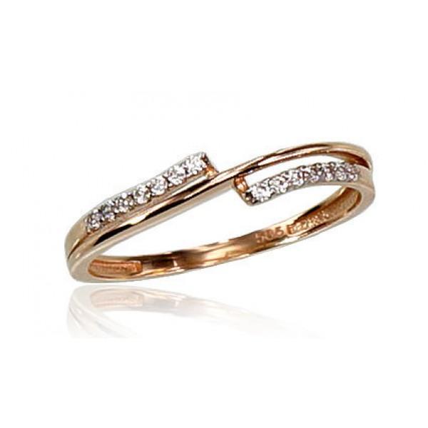 "Zelta gredzens ""Brigita VII"" no 585 proves sarkanā zelta"