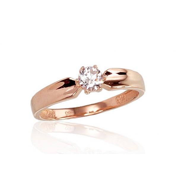 "Zelta gredzens ""Jaunā Klasika II"" no 585 proves sarkanā zelta"