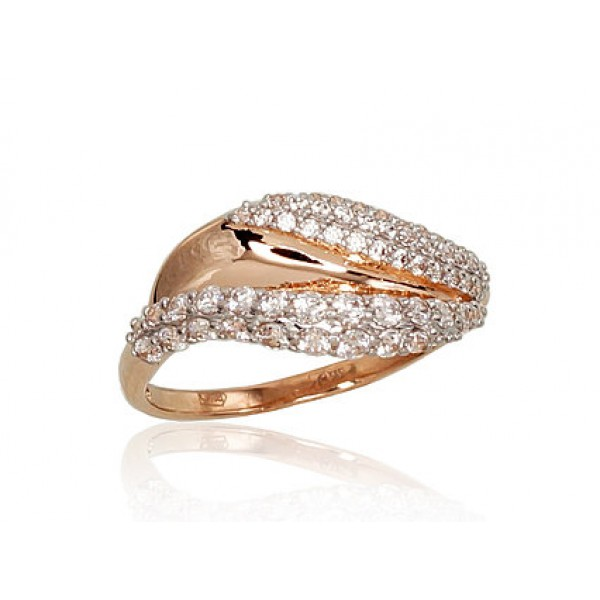 "Zelta gredzens ""Brigita"" no 585 proves sarkanā zelta"