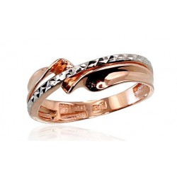 "Zelta gredzens ""Malori VII"" no 585 proves sarkanā zelta"