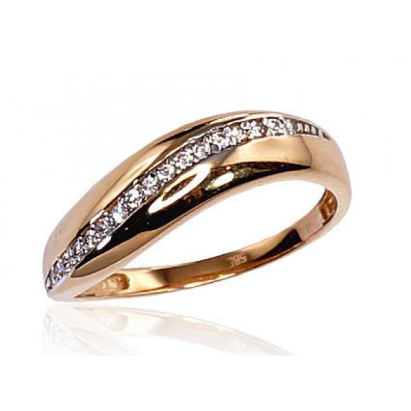 "Zelta gredzens ""Džoanna IX"" no 585 proves sarkanā zelta"