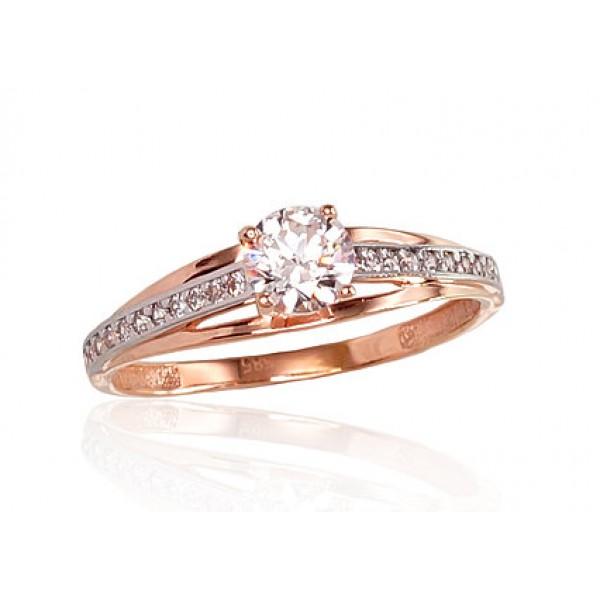"Zelta gredzens ""Malori"" no 585 proves sarkanā zelta"