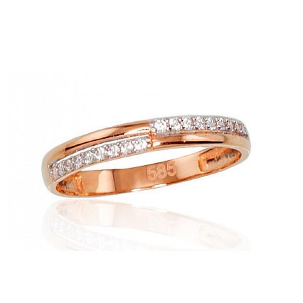 "Zelta gredzens ""Džoanna VII"" no 585 proves sarkanā zelta"