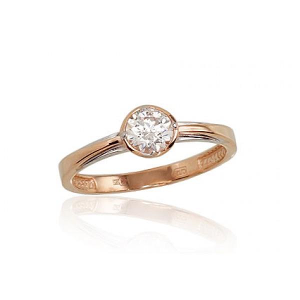 "Zelta gredzens ""Klasika Gold VI"" no 585 proves sarkanā zelta"