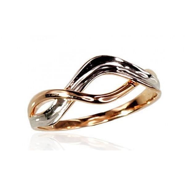 """Zelta gredzens """"Jūras Vilnis III"""" no 585 proves sarkanā zelta"""