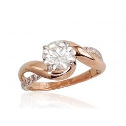 "Zelta gredzens ""Ērika IV"" no 585 proves sarkanā zelta"