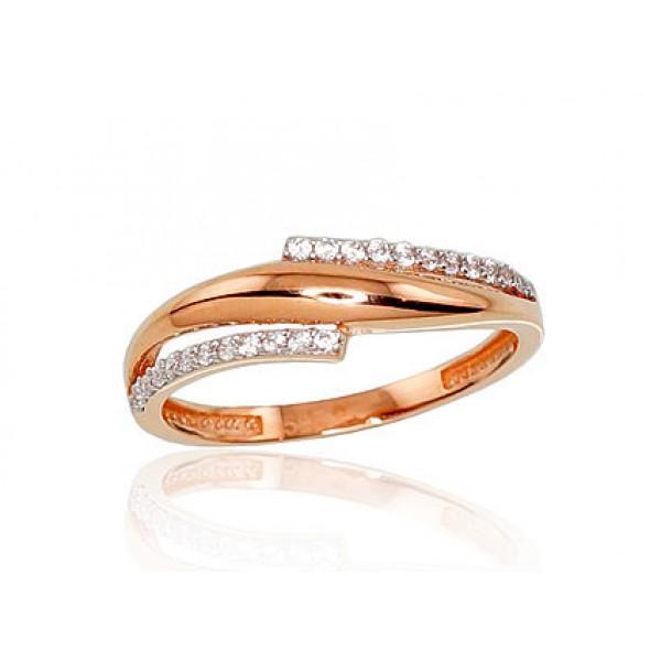"Zelta gredzens ""Brigita IV"" no 585 proves sarkanā zelta"