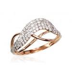 "Zelta gredzens ""Zelta Vilnis V"" no 585 proves sarkanā zelta"