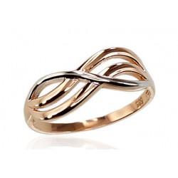 "Zelta gredzens ""Jūras Vilnis IV"" no 585 proves sarkanā zelta"