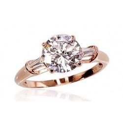 "Zelta gredzens ""Junona Gold V"" no 585 proves sarkanā zelta"