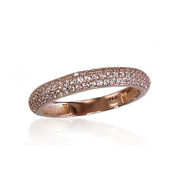 """Zelta gredzens """"Babilona III"""" no 585 proves sarkanā zelta"""