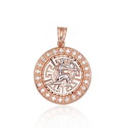 "Zelta kulons - zodiaka zīme ""Strēlnieks II"" no 585 proves sarkanā zelta"