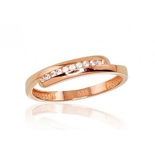 "Zelta gredzens ""Džoanna VI"" no 585 proves sarkanā zelta"