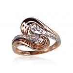 "Zelta gredzens ""Jūras Vilnis VII"" no 585 proves sarkanā zelta"