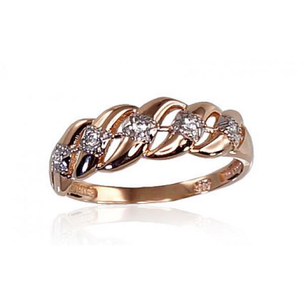 "Zelta gredzens ""Kamēlija"" no 585 proves sarkanā zelta"