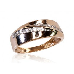 "Zelta gredzens ""Džoanna X"" no 585 proves sarkanā zelta"