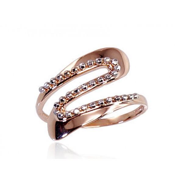 "Zelta gredzens ""Jūras Vilnis II"" no 585 proves sarkanā zelta"